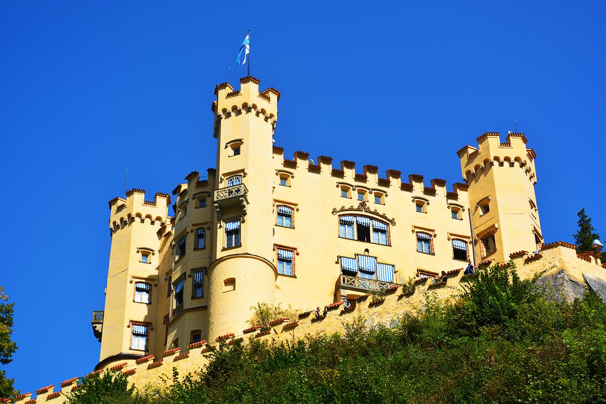 Remarkable Hohenschwangau Castle, Bavaria, Germany