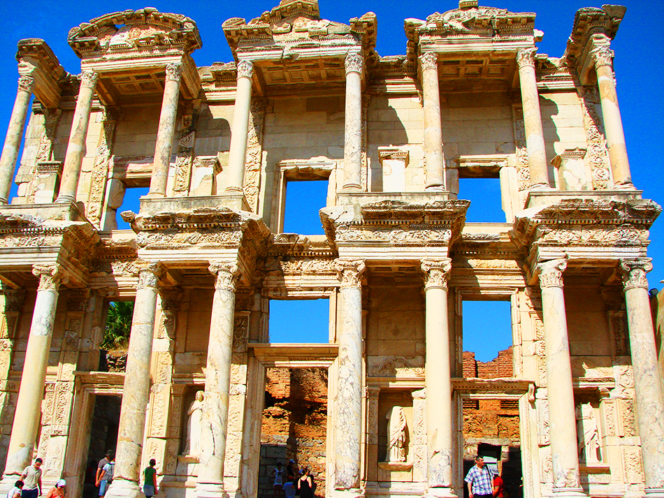 Library of Celsus, Ephesus - Ancient port city | Turkey