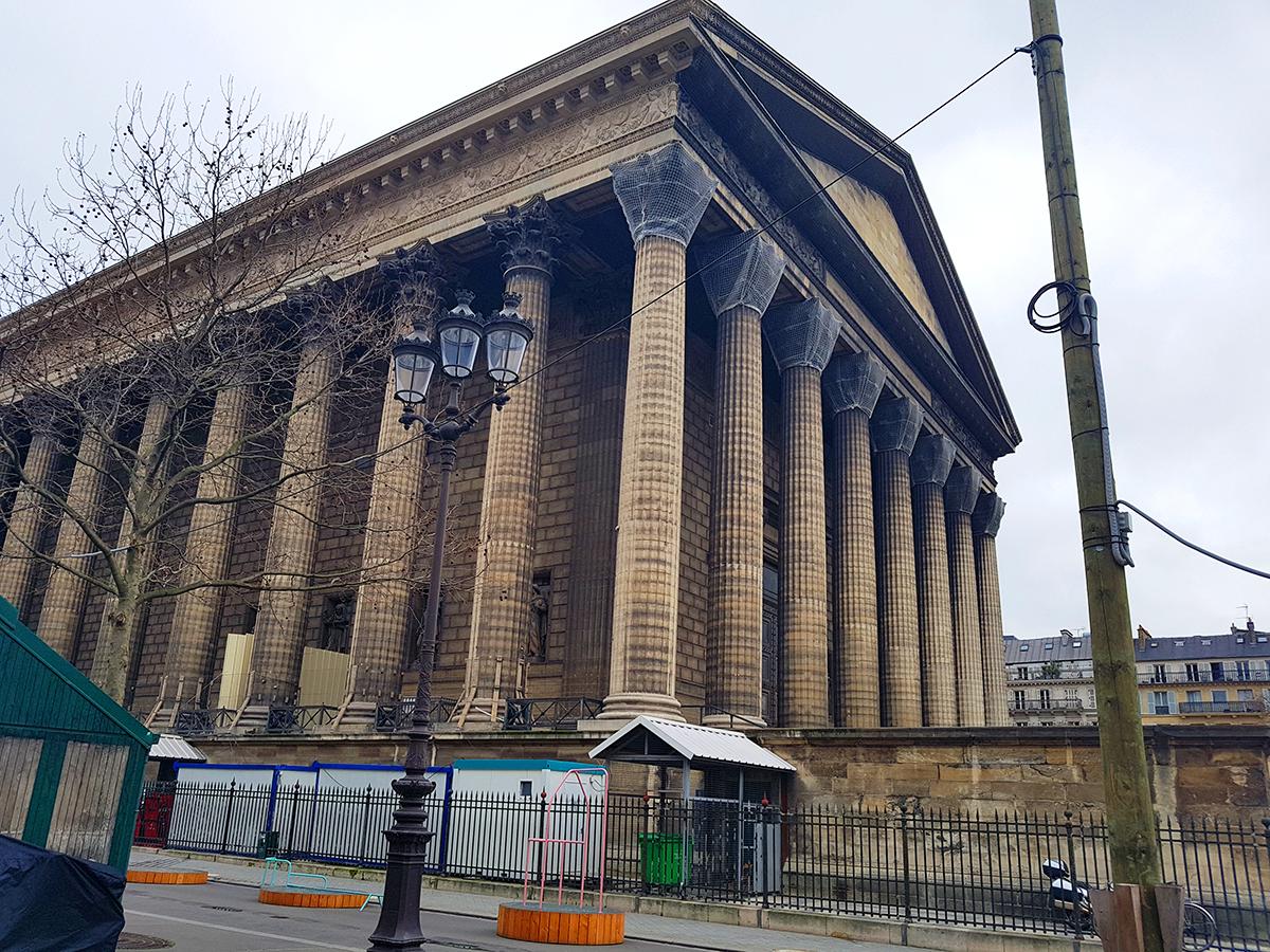 La Madeleine – un templu grecesc in Paris?