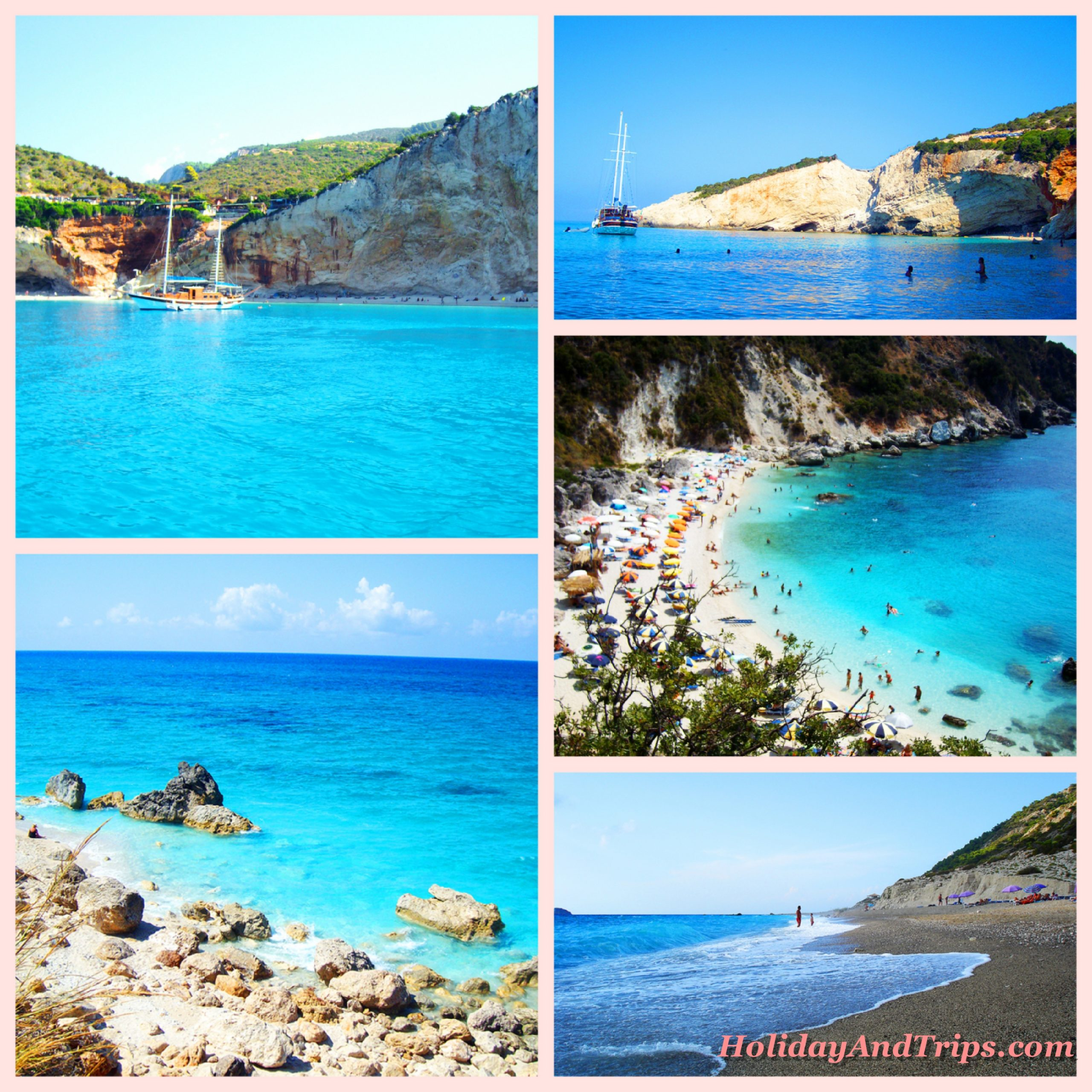 Top best beaches in Lefkada Island