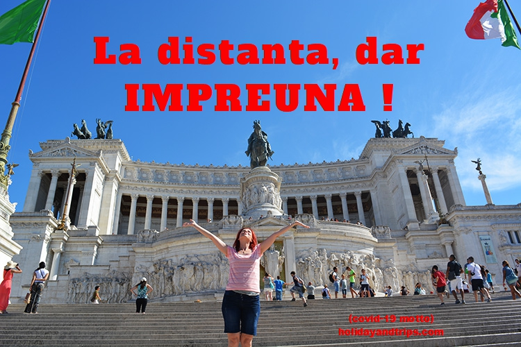 La distanta, dar IMPREUNA! holidayandtrips.com