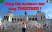 Keep the distance but stay TOGETHER! HOLIDAYANDTRIPS.COM