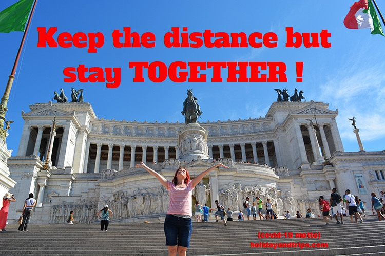 Keep the distance but stay TOGETHER!