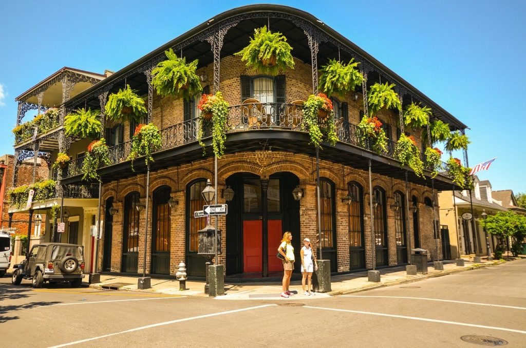 French-Quarter-New Orleans-Louisiana-USA