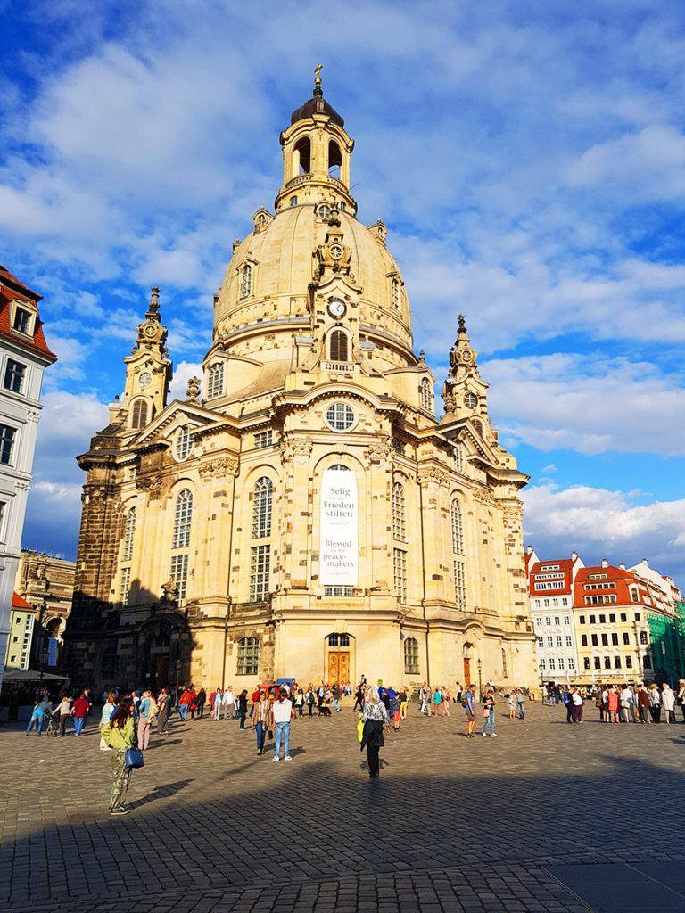 Frauenkirche Dresda, Germania
