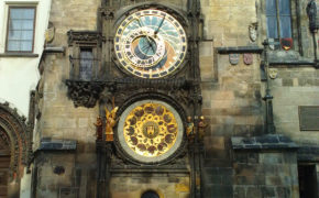 Prague astronomical clock Orloj, Czech Republic