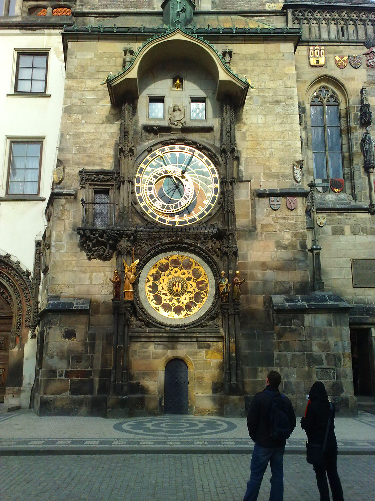 Prague astronomical clock Orloj, Czech Republic