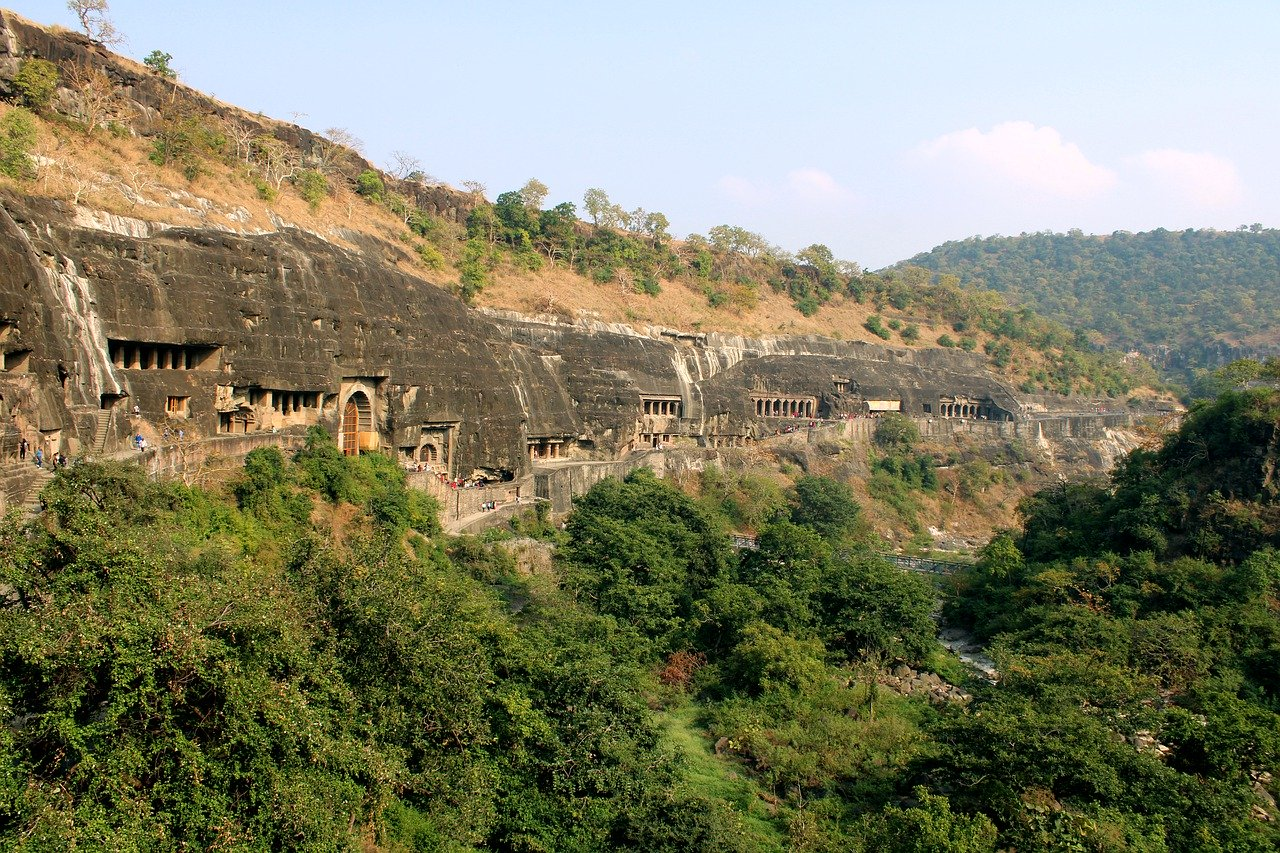 Ajanta Caves – 30 Buddhist rock-cut temples and monasteries