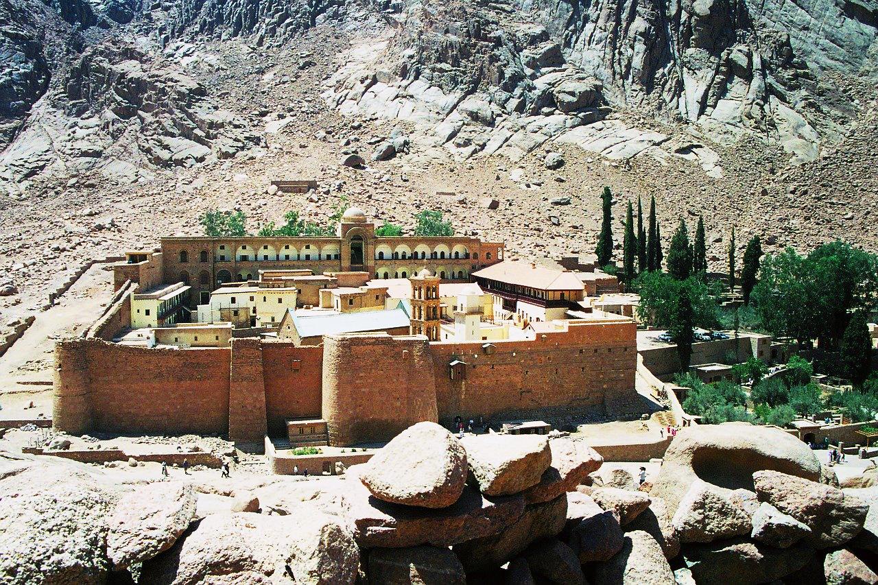 Saint Catherine's Monastery – the monastery on the holy ground