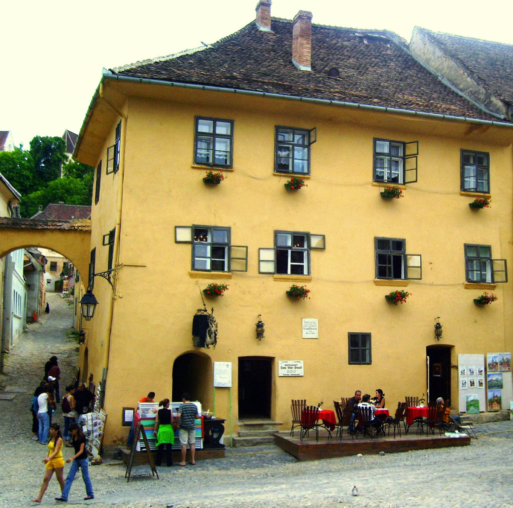 Sighisoara_Vlad_Tepes_born_house