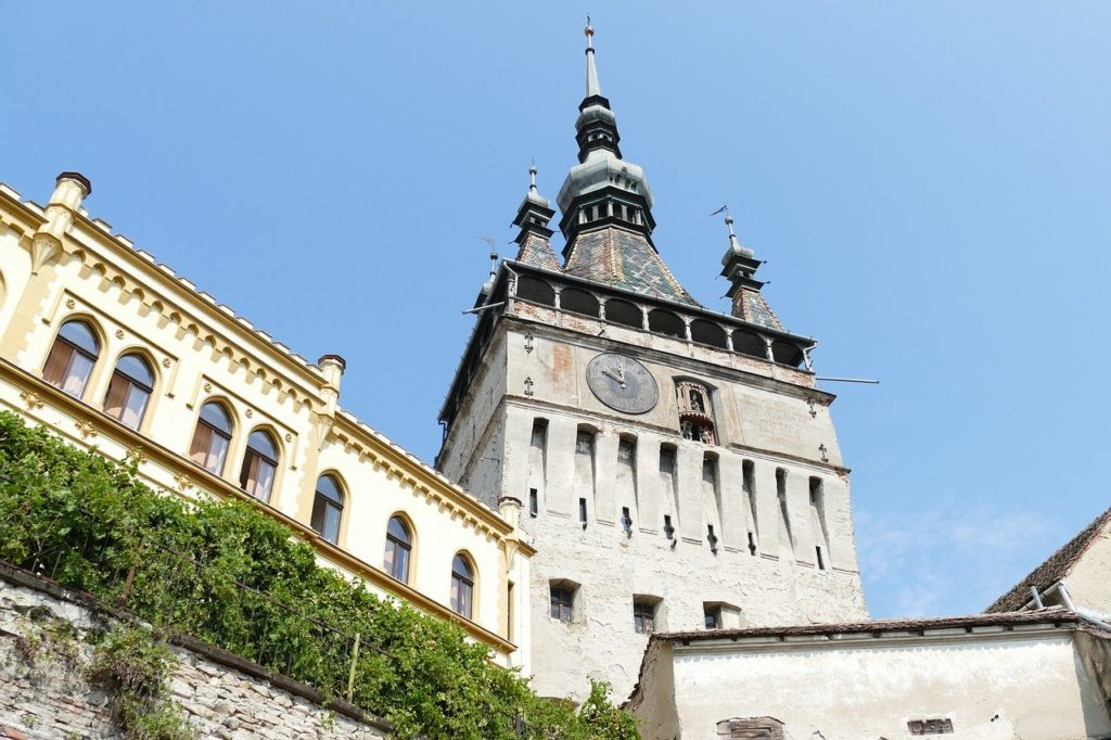 sighisoara-clock tower
