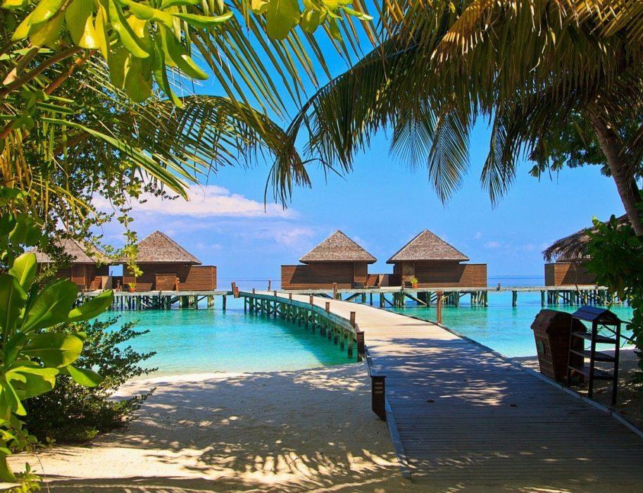 Maldive Insula Veligandu
