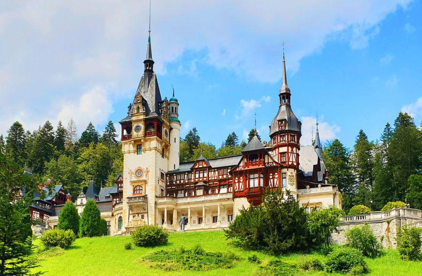 Peles Castle, Sinaia   The most beautiful castle in Romania
