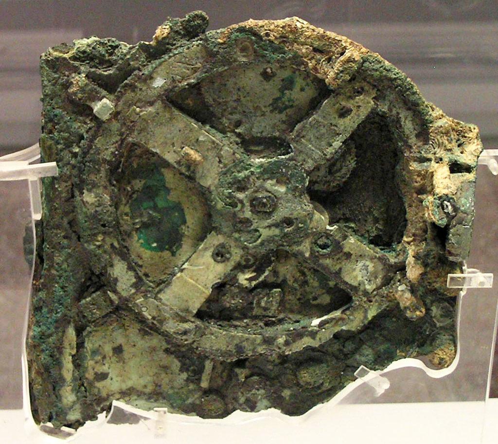 Mecanismul Antikythera Misterioase Artefacte