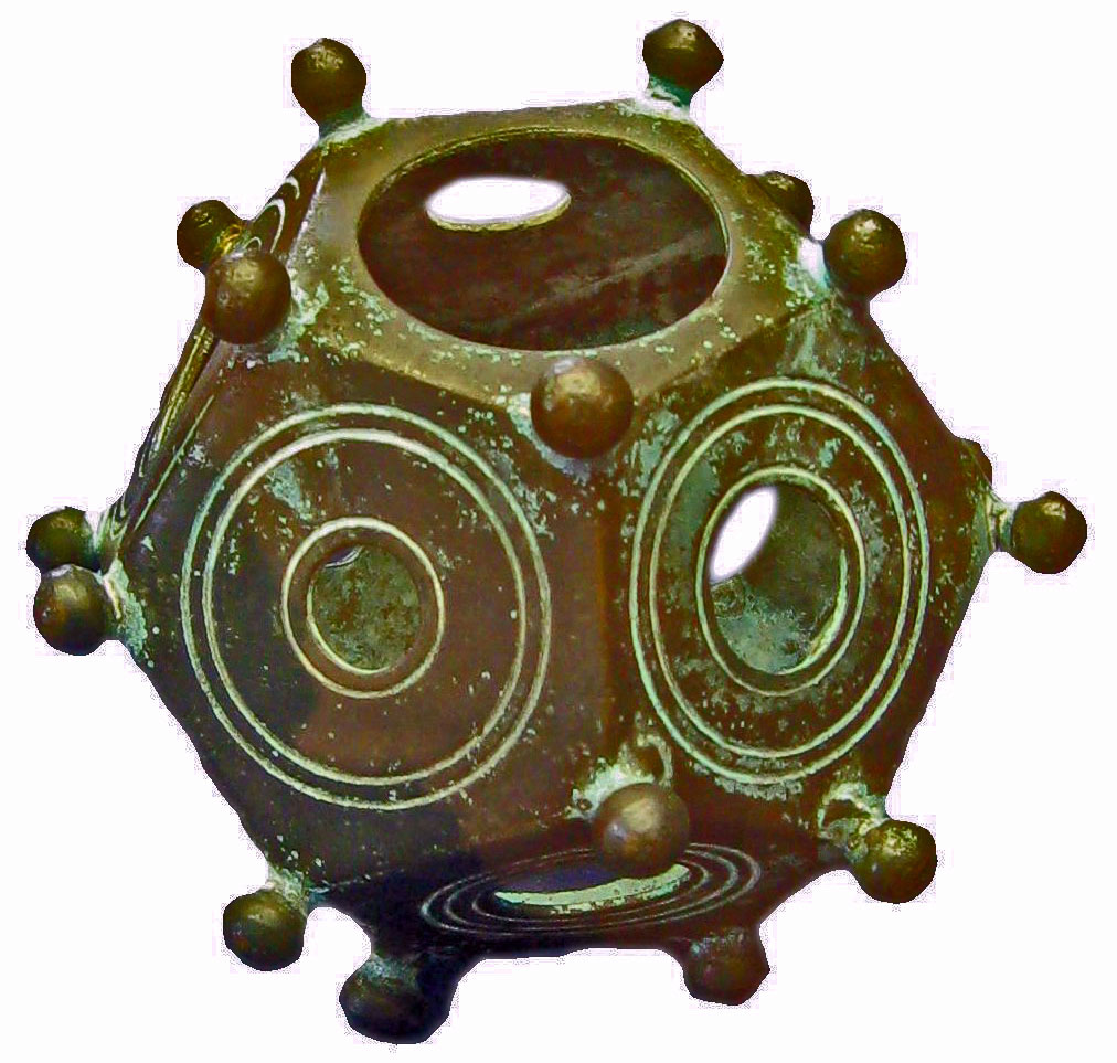 Roman-Dodecaedru Misterioase Artefacte