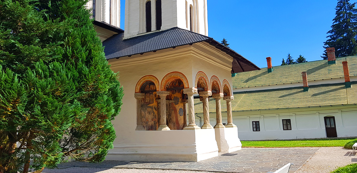 "Sinaia Monastery – ""the younger sister"" of the great St Catherine's Monastery from Egypt"