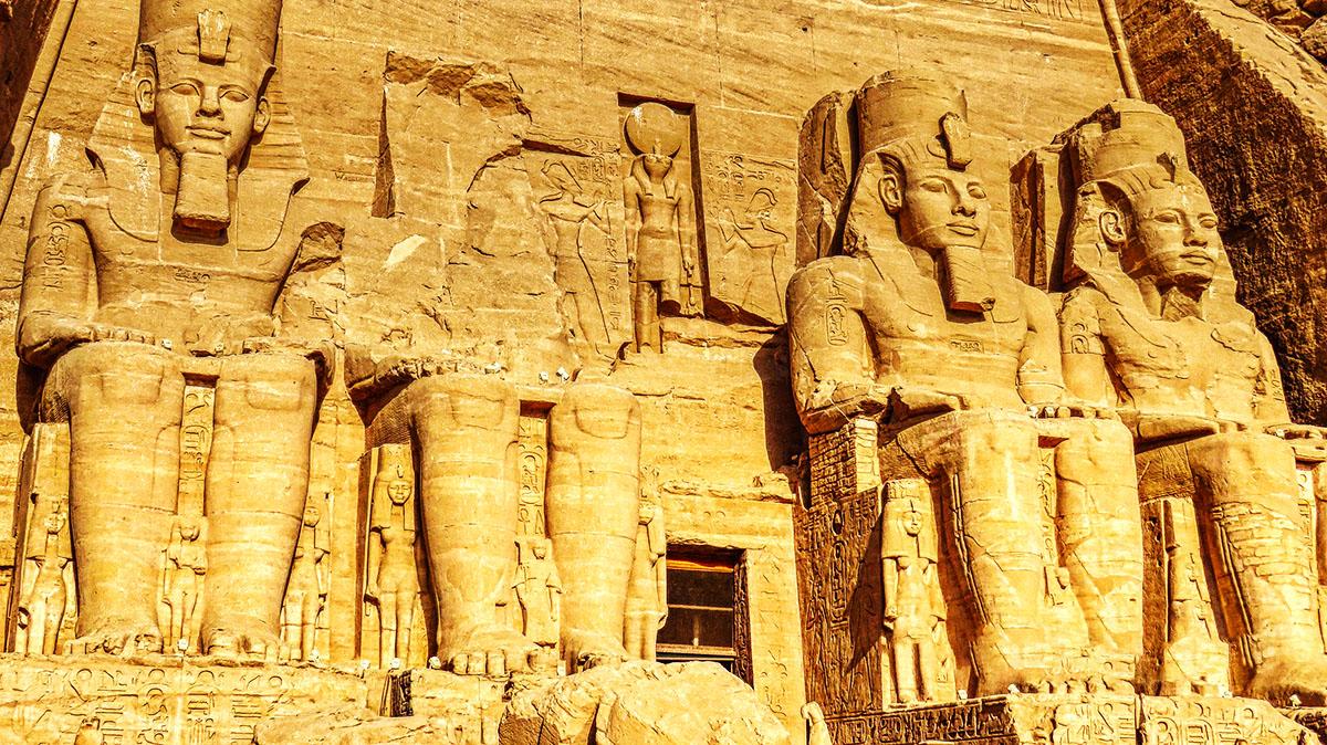 Abu Simbel, Marele Templu, Egypt