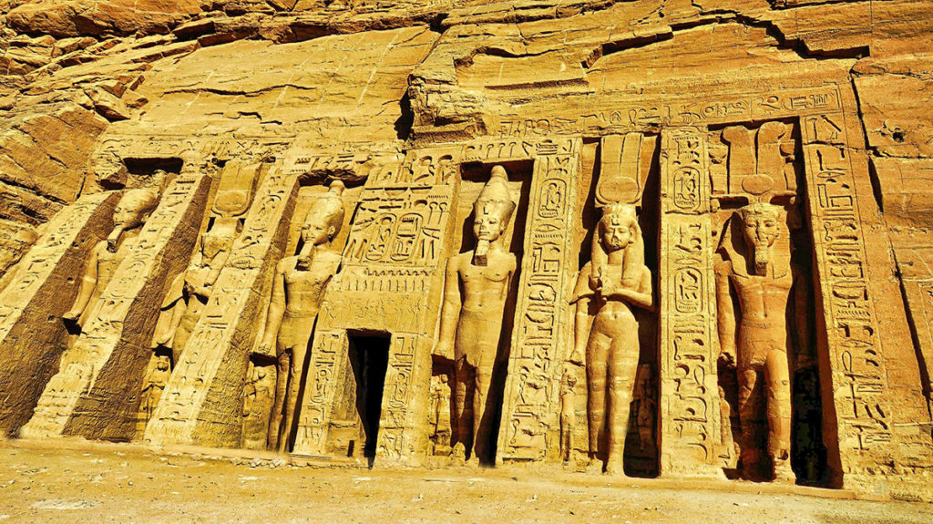 abu simbel small temple egypt