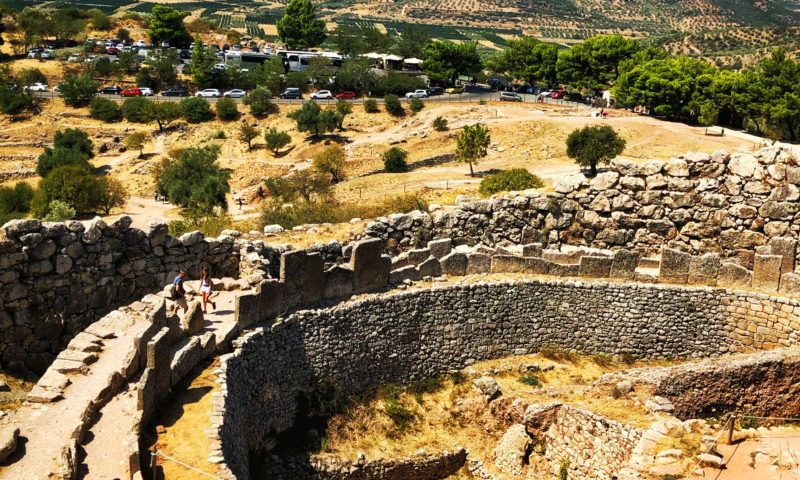 Citadel of Mycenae, Peloponnese, Greece