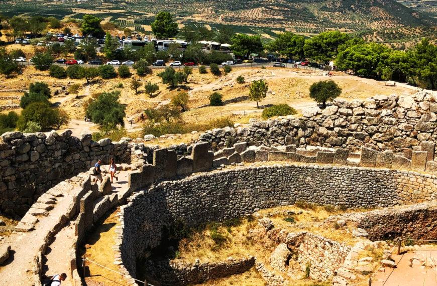 Mycenae – the mythological citadel of the powerful Mycenaean civilization