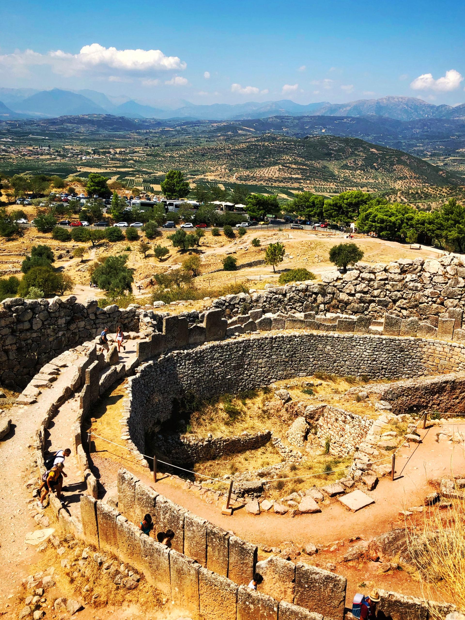 Citadel of Mycenae, Peloponnese, Greece