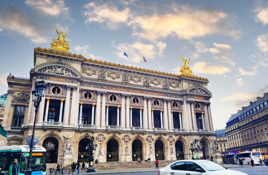 Opera Garnier, Paris – glamour and opulence