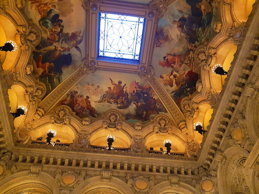 Le Grand Foyer frescoes, Opera Garnier, Opera House, Paris