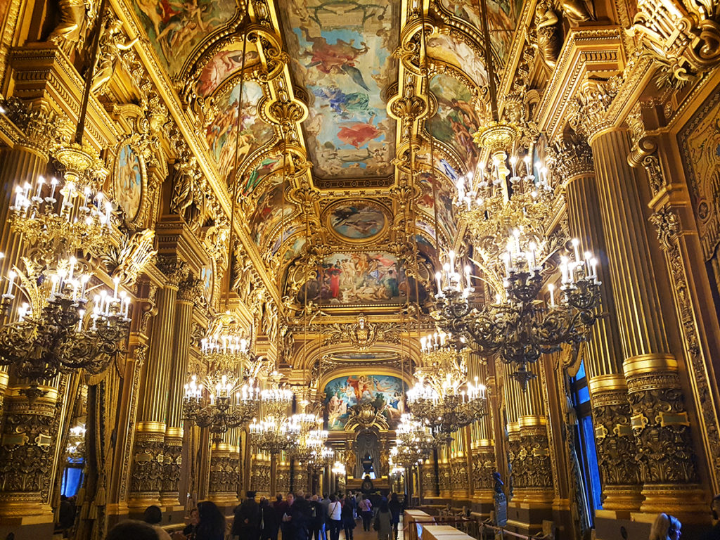 Ballroom, Opera Garnier, Opera House, Paris