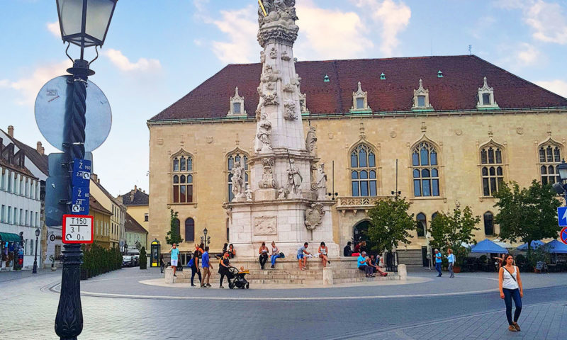 Holy Trinity Statue, Budapest, Hungary
