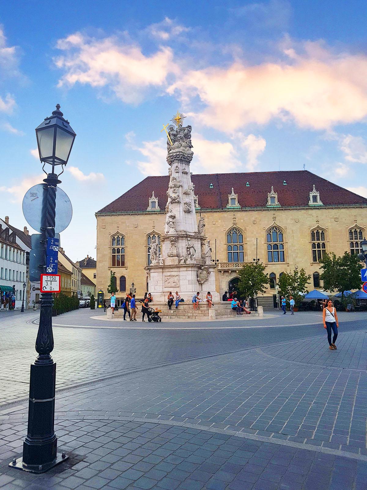 Statuia Sfanta Treime, Budapesta, Ungaria