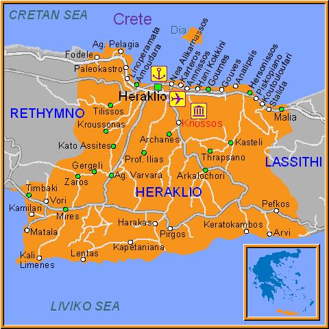 Heraklion Region-crete-greece