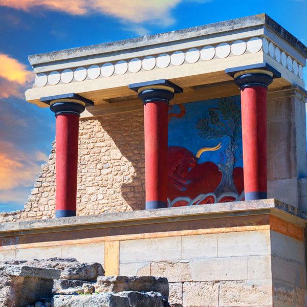 Knossos – Orasul comoara al misterioasei civilizatii minoice
