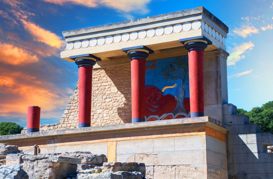 Knossos – Treasure city of the mysterious Minoan civilization