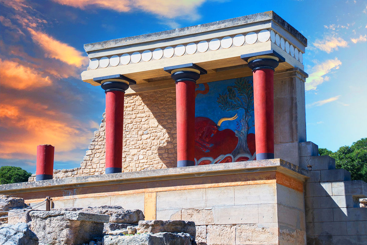 Knossos – Treasure city of the mysterious Minoan civilization