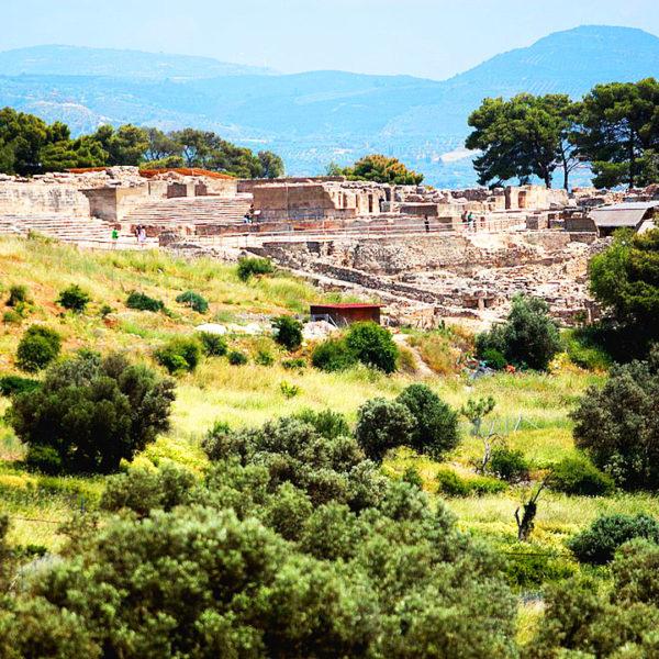 The Minoan Palace at Phaistos, Crete
