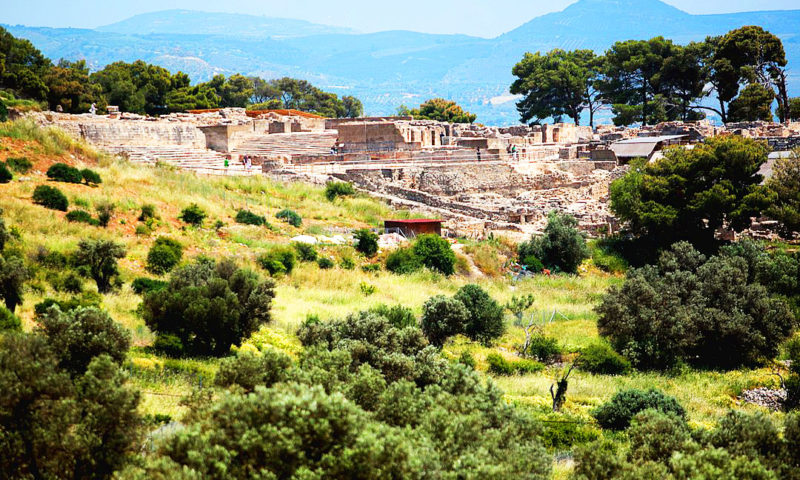 Phaistos-Crete