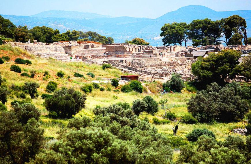 Palatul minoic Phaistos, Creta