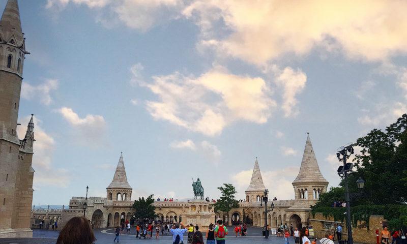 St. Stephen Statue, Budapest, Hungary