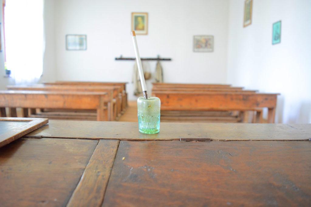 Valcea Village Museum Old School