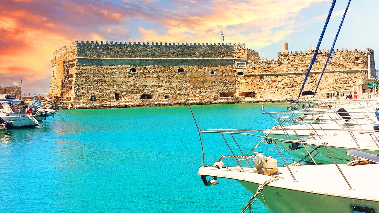 Top tourist attractions in Heraklion, Crete