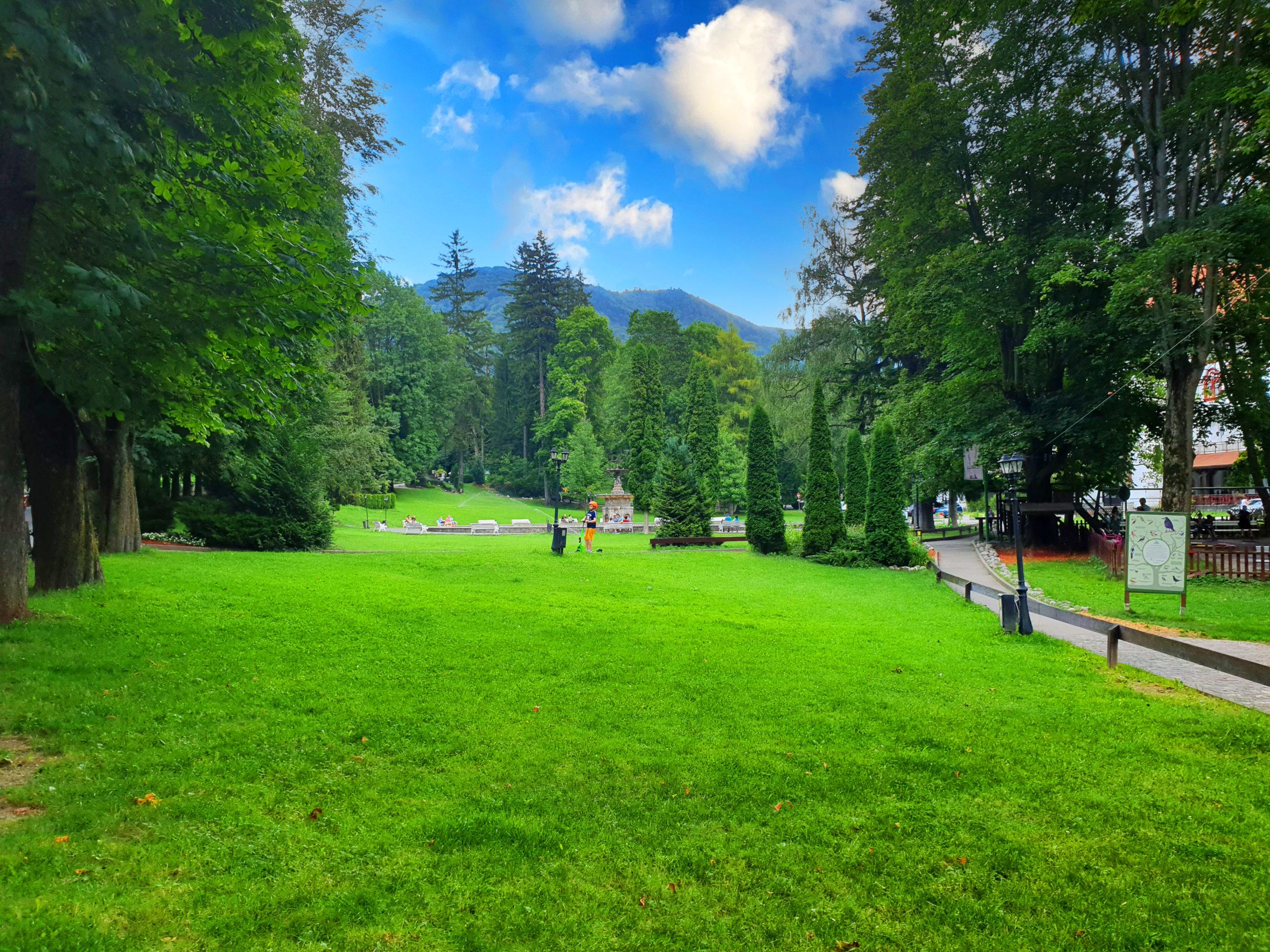 Dimitrie Ghica Park, Sinaia