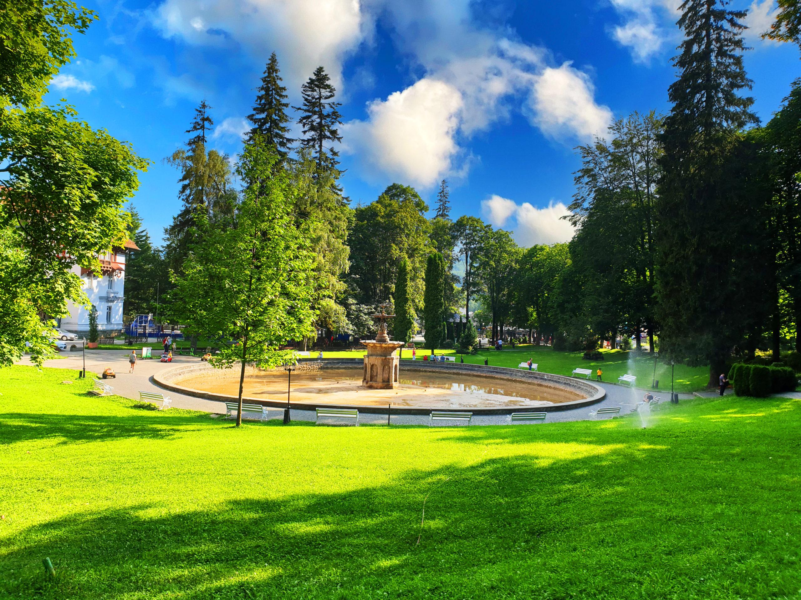 Parcul Dimitrie Ghica, Sinaia