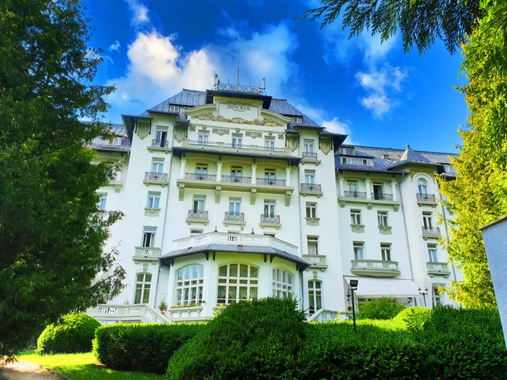 Hotel Palace, Parcul Dimitrie Ghica, Sinaia