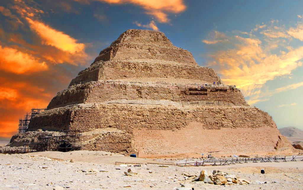 Djoser Step Pyramid_Sakkara_Egypt