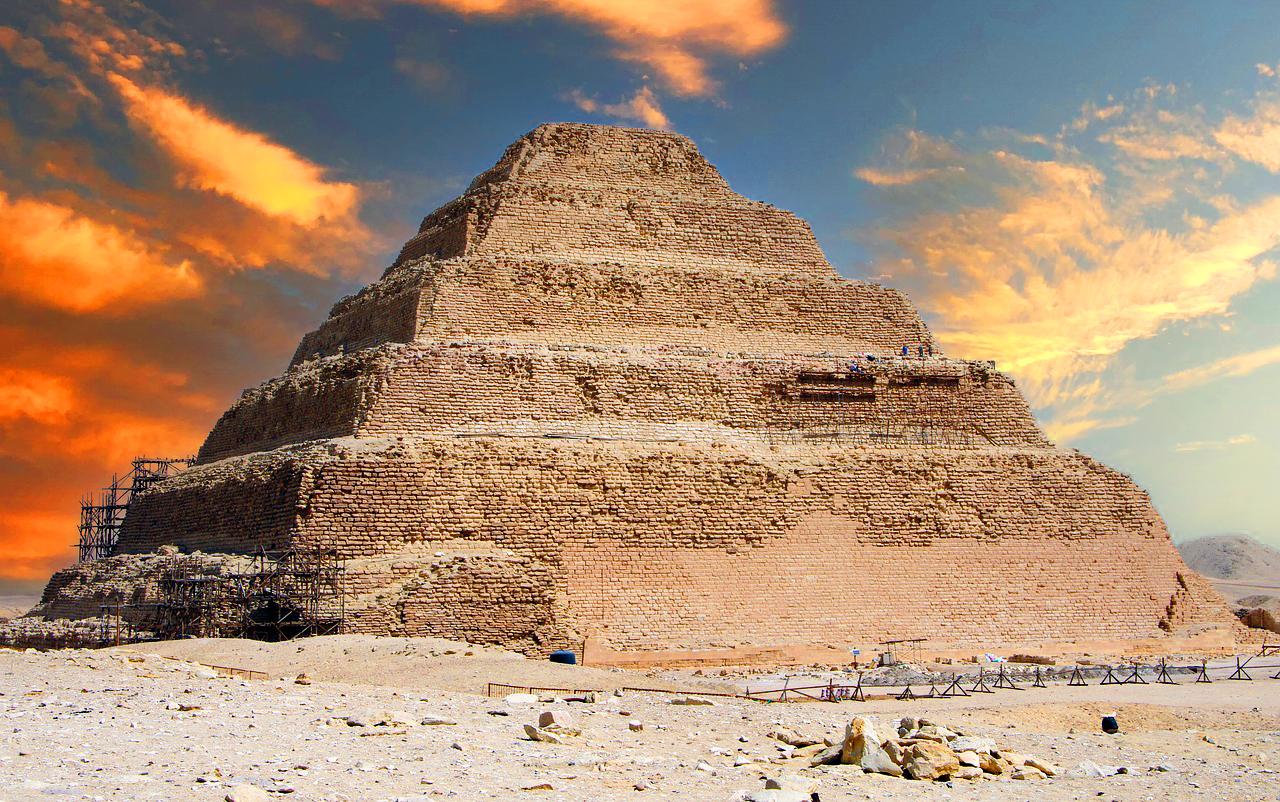Piramida in trepte a lui Djoser, Sakkara