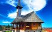 Biserica in stil maramuresean din Covasna