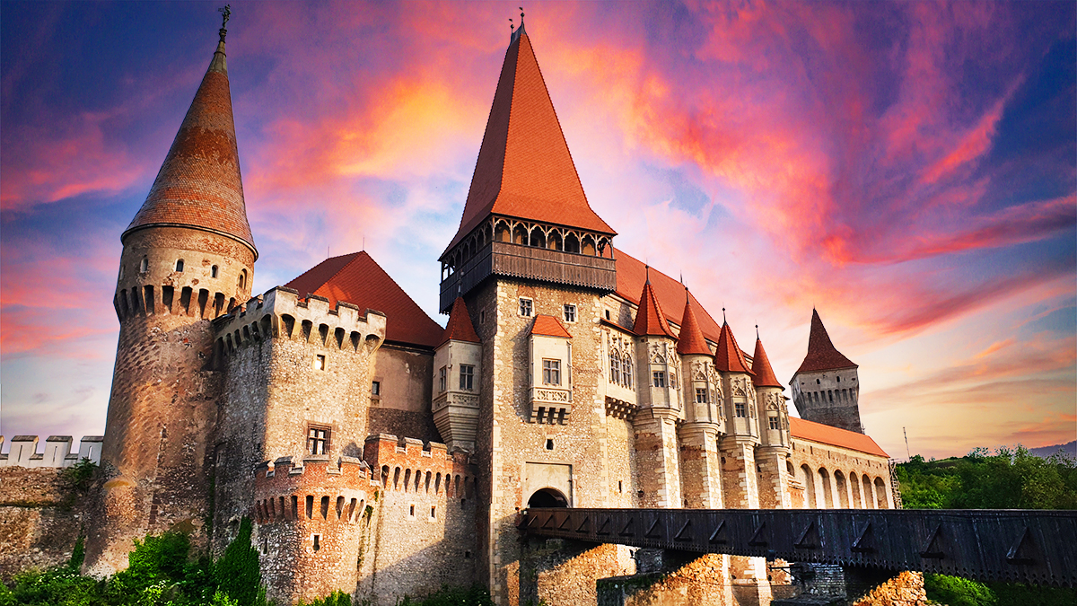 Corvins' Castle – one of the seven wonders of Romania