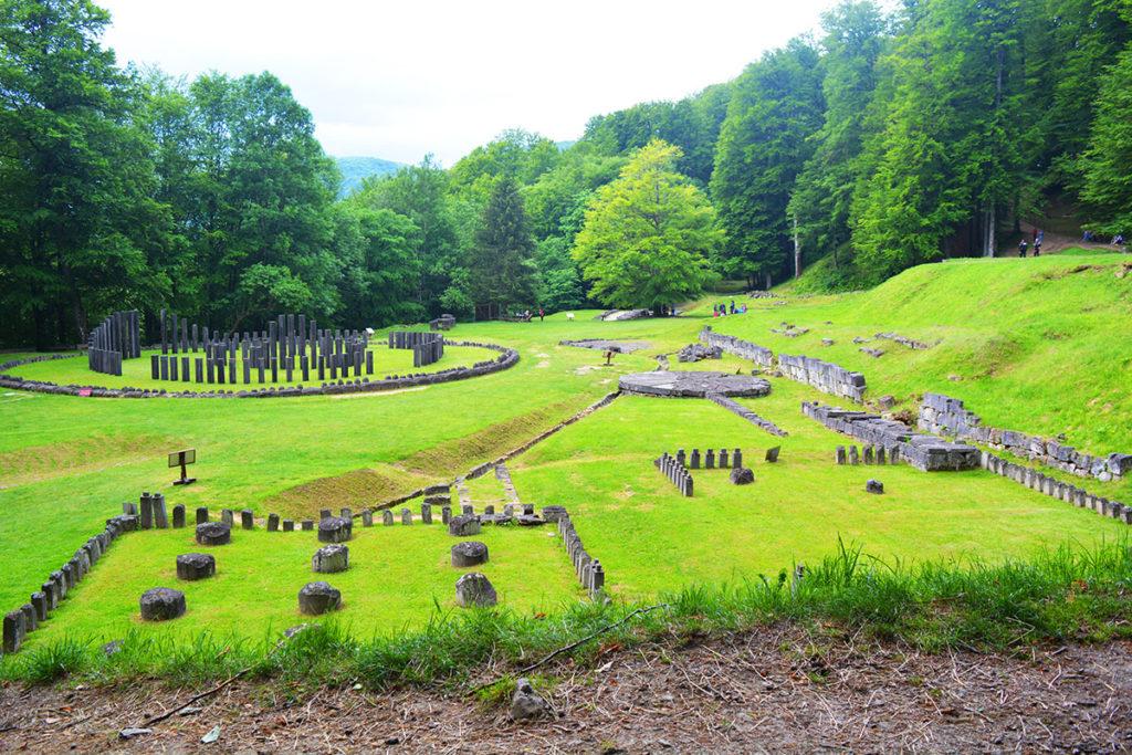 Sarmizegetusa Regia Dacians' capital, Romani