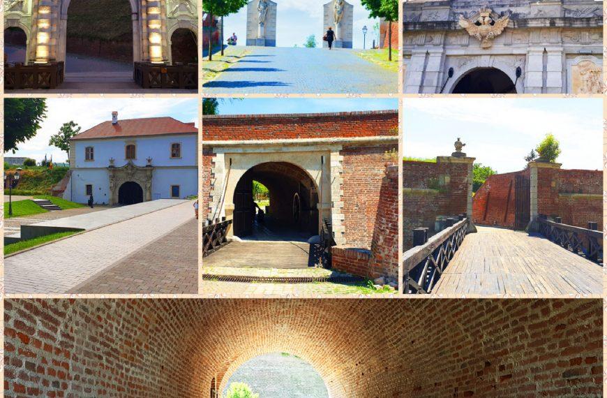 Ordinea in care sa vizitezi Portile cetatii Alba Carolina