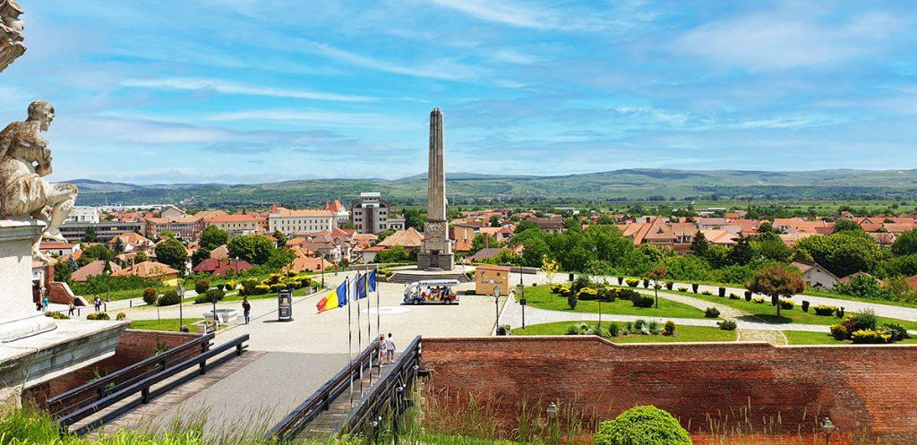 Horea, Closca and Crisan Obelisk, Alba Citadel